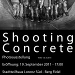 Shooting Concrete photo exhibition